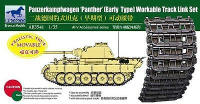 BRONCO AB3541 1/35 Panther Early Type Workable Track Link Set