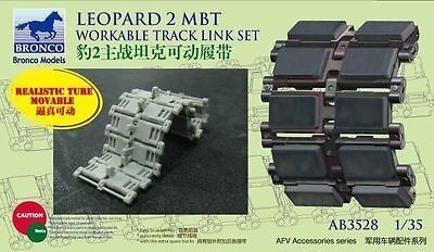 BRONCO AB3528 1/35 Leopard II MBT Workable Track Link Set
