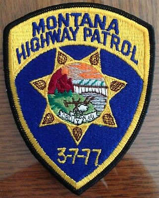 Montana Highway Partol (Montana) Police Uniform patch (32)