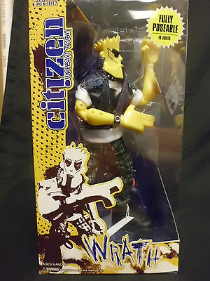 Limited Edition Citizen Urban Icon Action Figure-Wrath-Type 1
