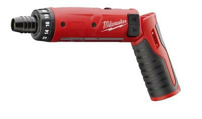 "Milwaukee 2101-20 M4 4V Cordless 1/4"" Hex Screwdriver (Bare Tool)"