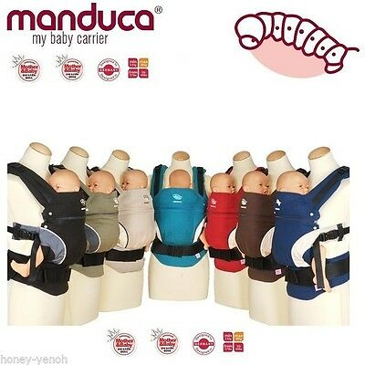 Manduca BABY CARRIER FRONT BACK HIP Newborn Infant Toddler Child Manduca Colors