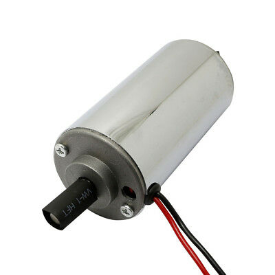 DC Spindle Motor 52mm w/ Permanent Magnet Brush & Chrome Surface 12-48VDC 400W