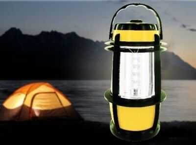 2x Portable Camping Camp Vintage Lantern Light Lamp torch Outdoor 20 LED