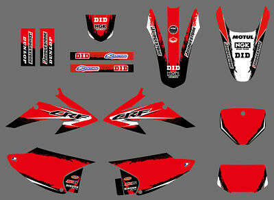 GRAPHICS DECAL Fit HONDA CRF150 CRF230 CRF150F CRF230F 2008 09 10 11 12 13 14 D5