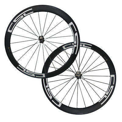 CSC decals 23mm wide 50mm Carbon Wheelset R13 Road Bike Wheels Front&Rear