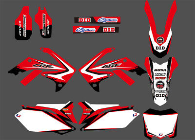 Team Graphics Decals For Honda Crf250R Crf250 2010 11 12 13 Crf450 450R 09-12 D5