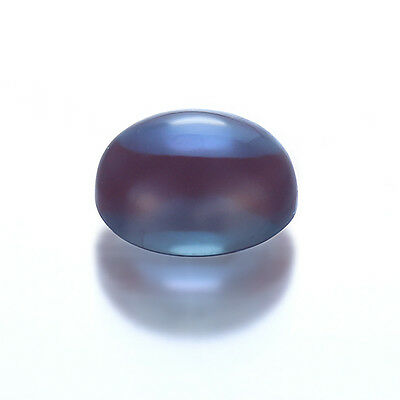 Lab Created Synthetic Alexandrite Chrysoberyl Pulled Oval Cabochon (6x4-35x25mm)