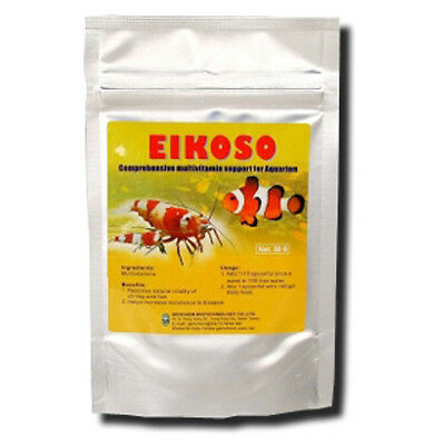 Genchem Eikoso Multivitamin for Crystal Tiger Cherry Shrimp & Fish