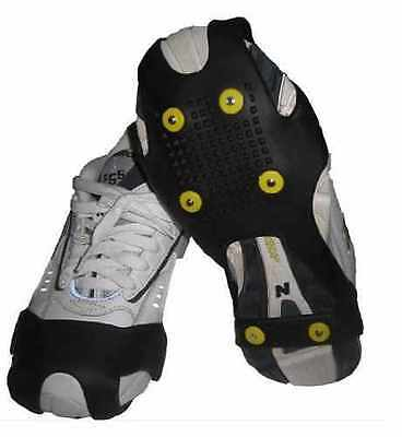 Snow Anti Slip Ice Grippers For Over Boots Or Shoes Grips Small Medium Large Xl