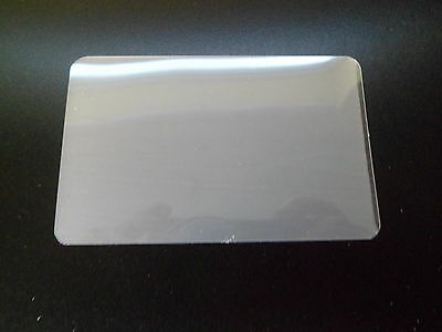 Clear Gloss Laminating Pouches 54mm x 86mm Credit Card - Heat Seal - 350 microns