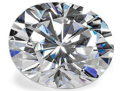 Forever One Oval Moissanite by Charles & Colvard D-E-F COLOR  Colorless