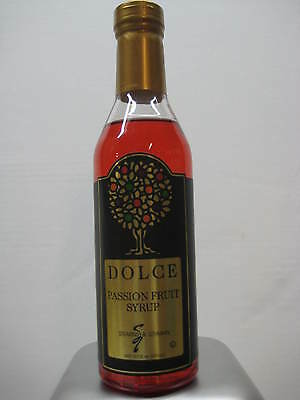 Dolce Passion Fruit Flavoring Syrup 375 mL
