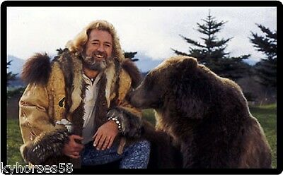 The Life And Times Of Grizzly Adams Refrigerator Magnet