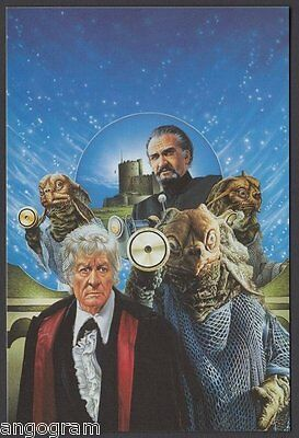 MODERN POSTCARD - Doctor Who - The Sea Devils
