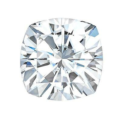Charles & Colvard Forever One Cushion  Moissanite  D-E-F COLOR, Colorless