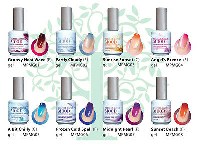 LeChat Perfect Match MOOD 1 - 60 Color Changing Gel Polish 2017 UPDATED