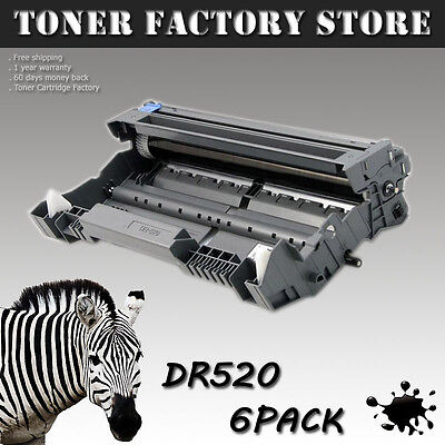6PK DR520 Drum For BROTHER DCP-8060 DCP-8065 DCP-8065DN HL-5200 HL-5240 HL-5250