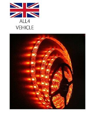 1 X 24V Roll Red 300Smd Led Strip For Iveco Daf Man Scania Volvo Renault Ford 5M