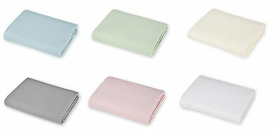 American Baby Company 100% Cotton Value Jersey Knit Fitted Portable Sheets