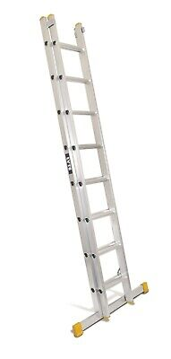 Lyte Trade Aluminium Extension Ladder- Double Section - 4.04m - 7.03m | ELT240