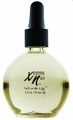 XTREME NAIL  2.5oz  ALMOND CUTICLE OIL - ACRYLIC / GEL / NORMAL