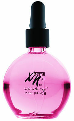 XTREME NAIL  2.5oz  CRANBERRY  CUTICLE OIL - ACRYLIC / GEL / NORMAL