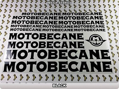 MOTOBECANE Stickers Decals  Bicycles Bikes Cycles Frames Forks Mountain BMX 54Y