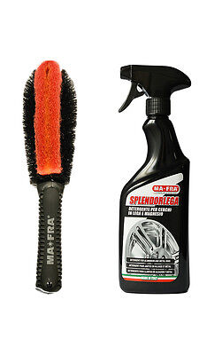 Pulizia Auto Cerchi Splendorlega+Cleaning Brush Ma Fra