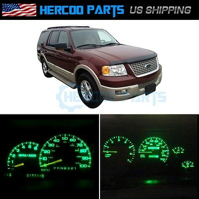 Ultra Green Speedometer Instrument Cluster Bulb LED Light for Expedition 05-06