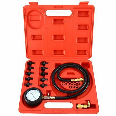 Low Oil Warning Devices Engine Oil Pressure Test Kit Oil Tester Car Garage Set