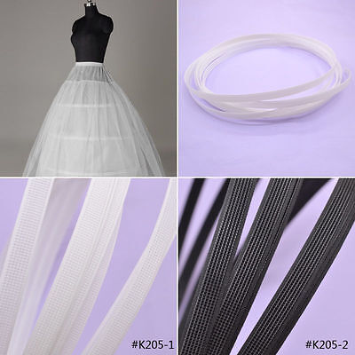 5 Meters Covered Plastic Boning For Wedding Swimwear Dress Support DIY Sewing