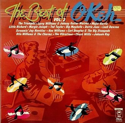 Best of Okeh Vol 2 Mono  'Northern Soul' tracks  1976 issue