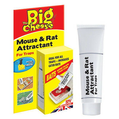 THE BIG CHEESE Mouse & Rat Attractant 26g Bait For Traps