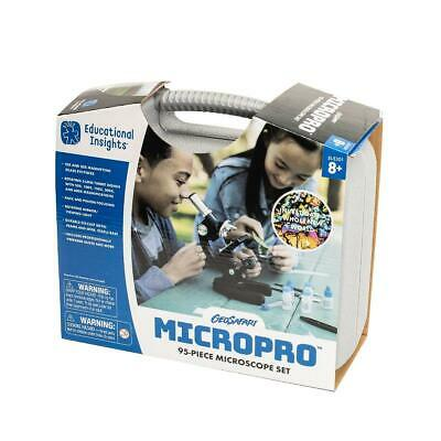 MicroPro Kids 48 Piece Microscope Set, Learning Resources
