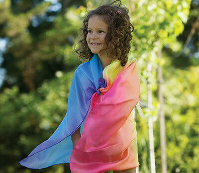 Sarah's Silks Playsilk Rainbow Fantasy Square for Costumes or Fun - 567516