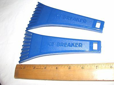Ice Scrapers 7 inch Set of 2 - Made in the USA Storm Performers - NEW