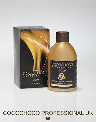 ❤︎ COCOCHOCO GOLD Brazilian Blow Dry Keratin Straightening Treatment KIT 250ml