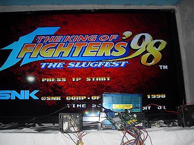 Neo Geo Mvs King Of Fighters 98 Authentic Snk  Original