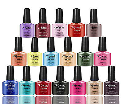 COLECTION GENERAL  Organail Vernis à ongle Profession Semi Permanent Gel UV D