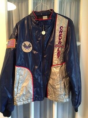 1982 Camaro Indy Pace Car Jacket M Used Blue Silver Chevy Horizon Sportswear Z28