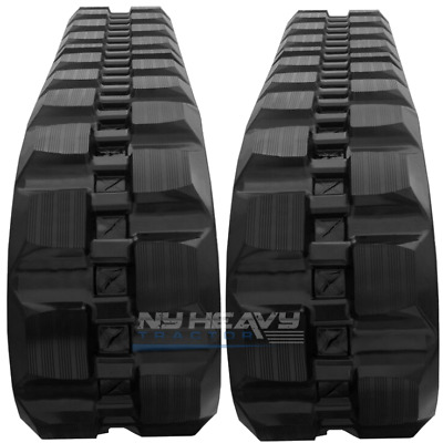 """NEW RUBBER TRACKS SET of TWO FOR BOBCAT S130 400X86X50 15.75"""""""