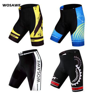 Men Bicycle Bike Cycling Shorts Pants Gel 4D Outdoor Wear Riding Padded S-2XL