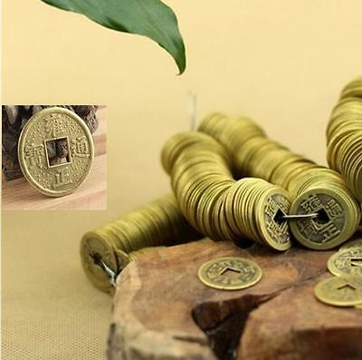 50Pcs 24mm Feng Shui Coins /Lucky Auspicious Chinese Qing Dynasty Emperors Coin