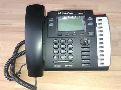 Telefono Voip AudioCodes 320HD VoIP PHONE, model 320HDEPS