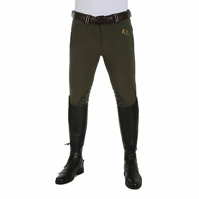 Kingsland Kyle Mens Breeches with Silicone Grip - 151-BRG-039