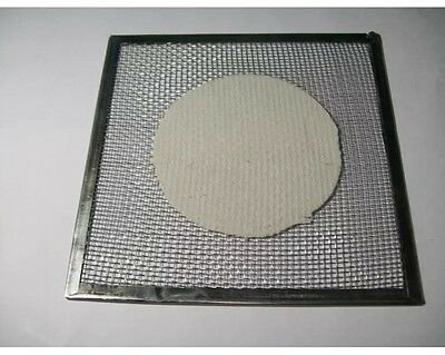 10x Wire Gauge with Double Asbestos for Alcohol Burner & Lab Glassware