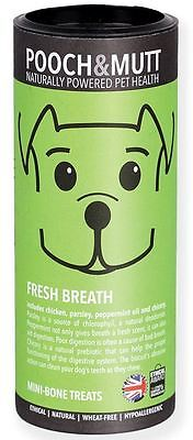 Pooch & Mutt Fresh Breath Hand-Baked Treats for Dogs 125g