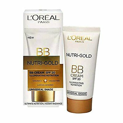 L'Oreal Nutri-Gold BB Cream with SPF 20 Illuminating Nutrition 40 ml