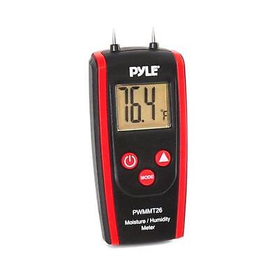 NEW Pyle PWMMT26 Digital Moisture/Humidity Meter (for Wood  Cement  Mortar)